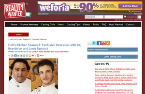 Raj Brandston Pictures, Videos and News from Hell\'s Kitchen ...