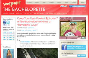 Keep Your Eyes Peeled! Episode 7 of The Bachelorette Holds a